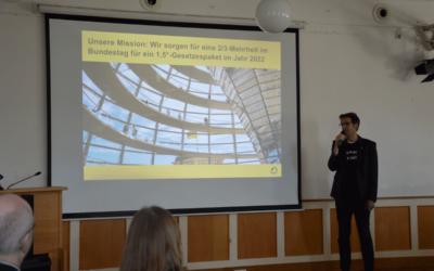 Mitgliederversammlung beschließt Arbeitsplan bis zur Bundestagswahl 2021