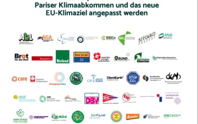 Veröffentlichung der Emissionsdaten des Umweltbundesamtes zum Absinken der Treibhausgasemissionen