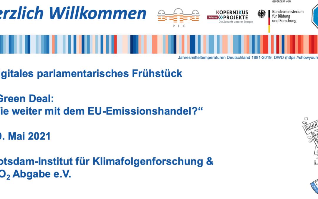 Wie weiter mit dem Europäischen Emissionshandel?